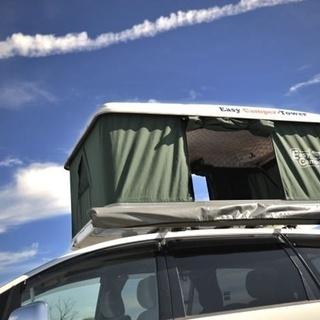 キャンプ用 車体搭載 テントの画像
