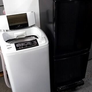 配達設置🚚 生活家電セット 冷蔵庫 どっちでもドア 洗濯機 スリ...