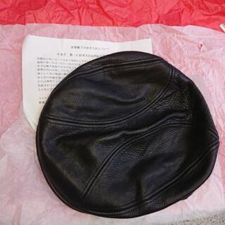 ★帽子、革製ハンチング