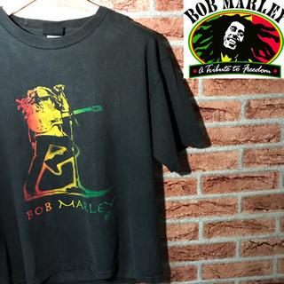 BOB MARLEY ボブマーリー ビッグプリント Tシャツ