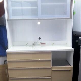 キッチンボード 食器棚 幅120センチ 高橋木工所 ソフトクローズ