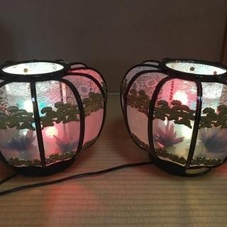 回転式 盆提灯 灯篭