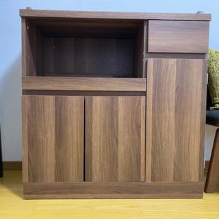 インテリア家具LOWYA キッチン収納(レンジ台)