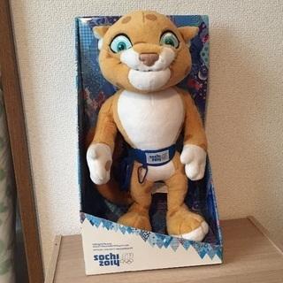 2014年ソチオリンピック マスコット ユキヒョウの