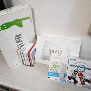 任天堂Wii本体・Wii Fit・その他付属品