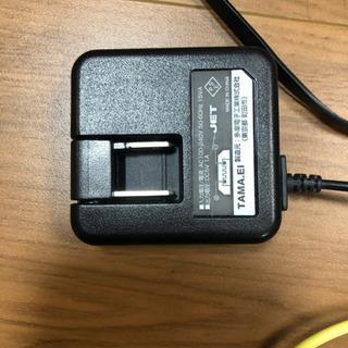 携帯の充電器と充電の線5本