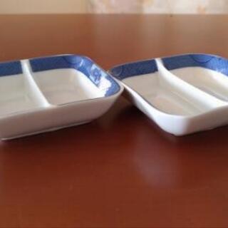 刺し身醤油皿 2枚