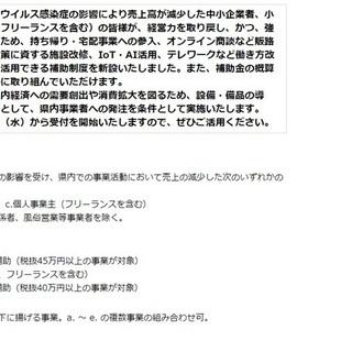 富山県地域企業再起支援事業補助金
