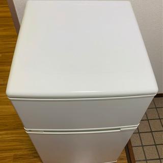 冷蔵庫 無料(中古、ユーイング UR-D90H 直冷式)