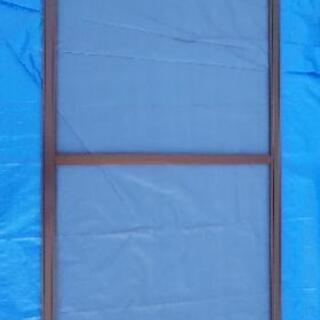 【熊谷市の便利屋】網戸の張り替え、建付け調整、戸車の交換を承ります