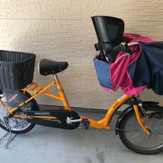 子供乗せ自転車 ほぼ新品の画像