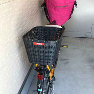 子供乗せ自転車 ほぼ新品 - 自転車