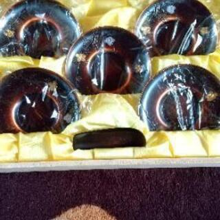純銅製  茶托セット