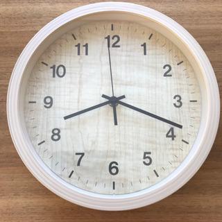 予定者決定→壁掛け時計 ウッドカラー