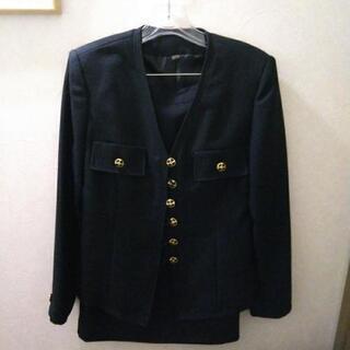 濃紺 バブル時代の未使用スーツ
