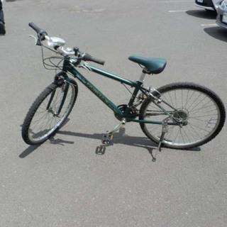 自転車 26インチ ジャガー JSK-100 6段切替 緑 JA...