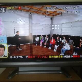 シャープアクオス46インチ液晶テレビ