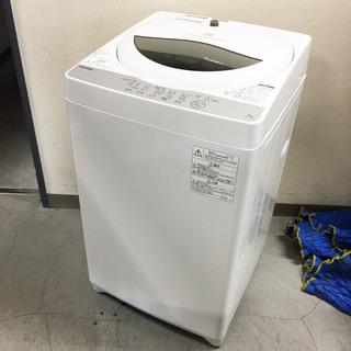中古☆TOSHIBA 洗濯機 2018年製 5.0K