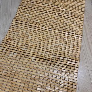 冷感敷きパッド 竹パッド シングルサイズ