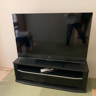 50インチテレビ(テレビ台付きです)