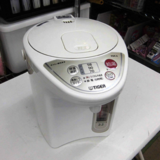 札幌 マイコン電動ポット 2.2L タイガー PDR-220 湯...