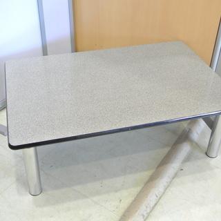 折りたたみ応接テーブル 大理石風 折れ脚テーブル TH-35 大...