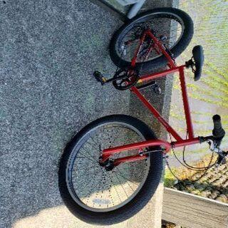 26インチ タイヤの太い自転車 ファットバイク