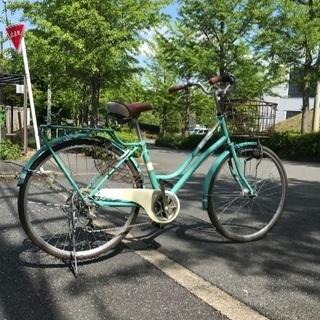 再投稿。シティーサイクル 自転車 26インチ