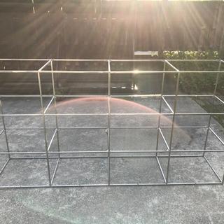 陳列棚 アングル 元店舗に 高さ91センチ幅181センチ奥行き4...