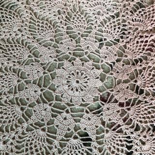 レース編み テーブルクロス⑤