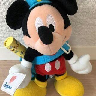 ミッキーマウス 電報 NTT  ぬいぐるみ