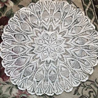 レース編み テーブルクロス11