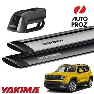 YAKIMA 正規品 ジープ レネゲード ルーフレール付き車両 ...