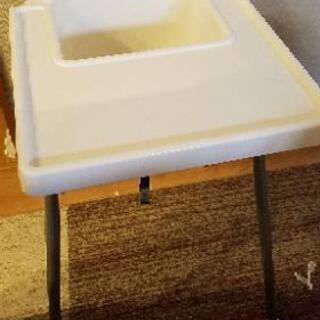 イケア 幼児用の椅子 白
