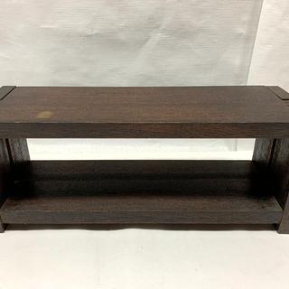 売切りセール!木製 卓上 飾り棚 幅500×奥行160×高さ20...