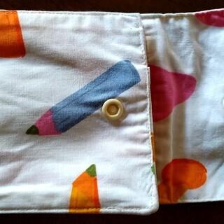 布製二つ折り財布