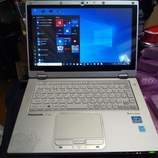【薄軽い】PanasonicレッツノートAX Core i5&S...