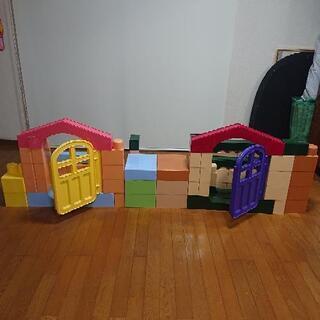 Peopleピープル  全身でブロック  2セット  子供知恵玩具