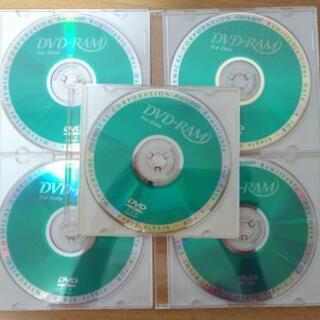 DVD-RAM 5枚 ケース付き