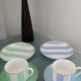 食器 お茶セット トリオの2客