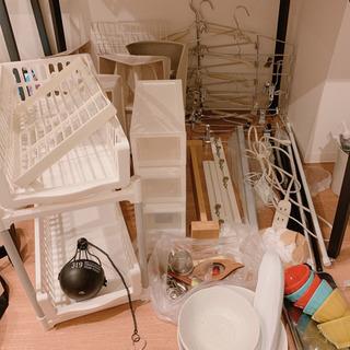 収納用品、照明、ハンガー、食器など