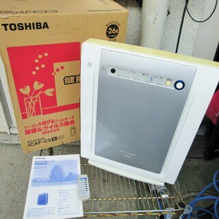 ☆東芝 TOSHIBA CAF-C5 空気清浄機◆健康イオ…