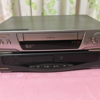 Panasonicビデオデッキ二台セット