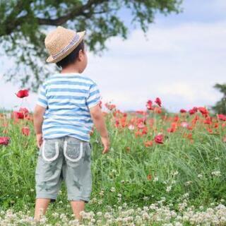 お子様やご家族で、お花や緑と触れ合うロケーション撮影はいかがでし...