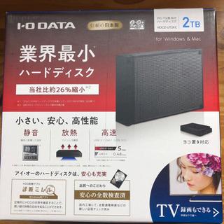 PC・TV用外付けハードディスク 2TB アイオーデータ HDC...