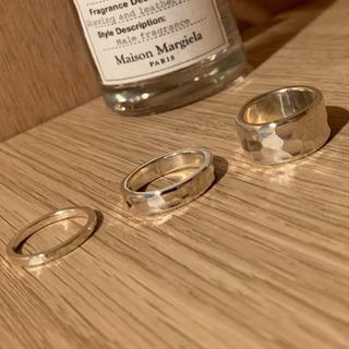 ハンドメイドリング(指輪)槌目仕上げ