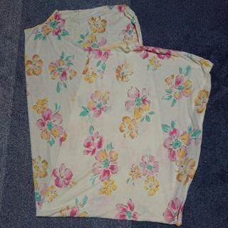 寝具 襟カバー  花柄