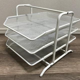 【IKEA】レタートレイ ホワイト 生産終了品