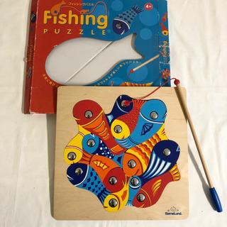 ボーネルンド 木製パズル 魚釣り ドイツ 知育