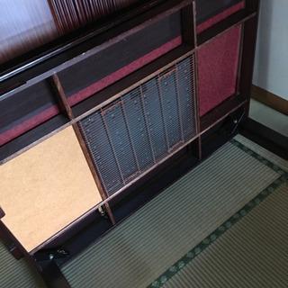 リバーシブル テーブル 【値下げしました】 - 家具